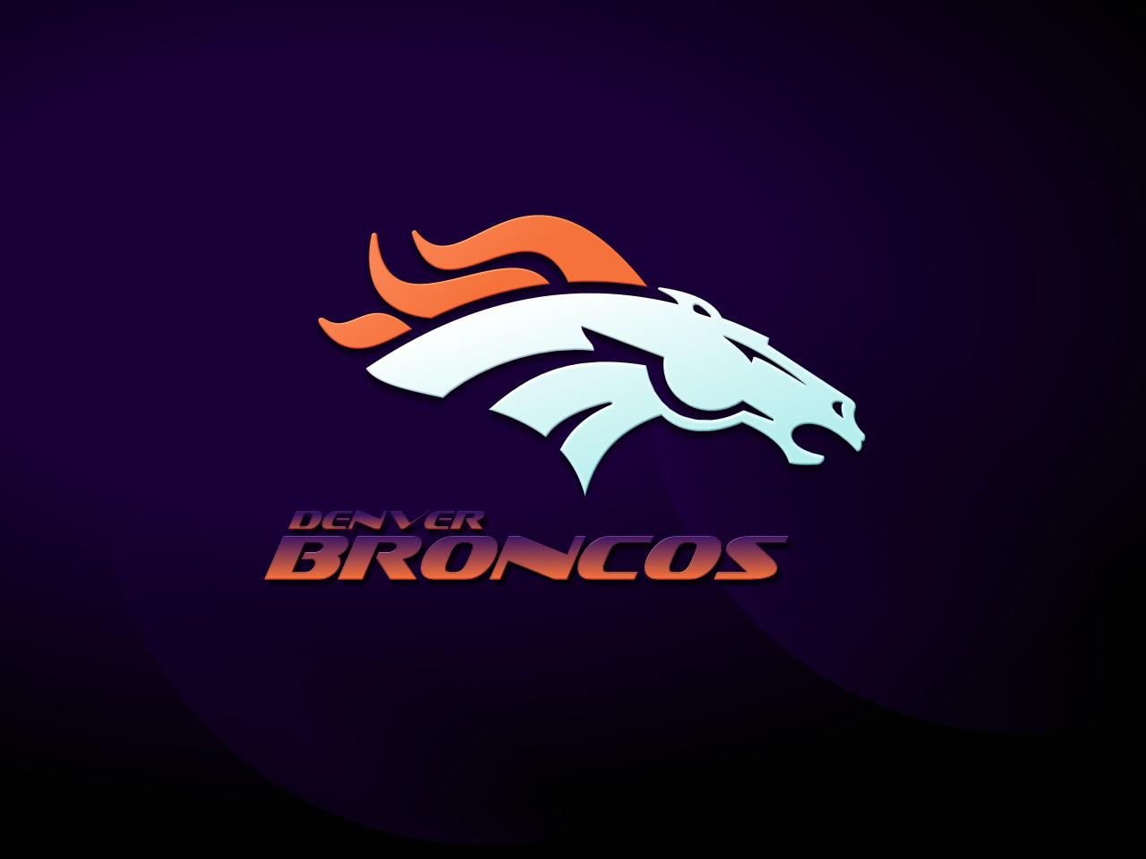 Denver Broncos wallpaper Broncos logo 1280x960