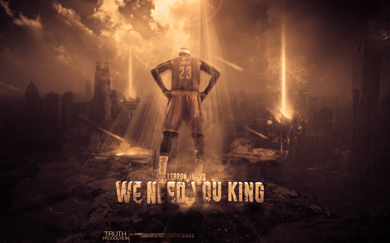 LeBron James Cavs Need You 28801800 Wallpaper Basketball 2880x1800