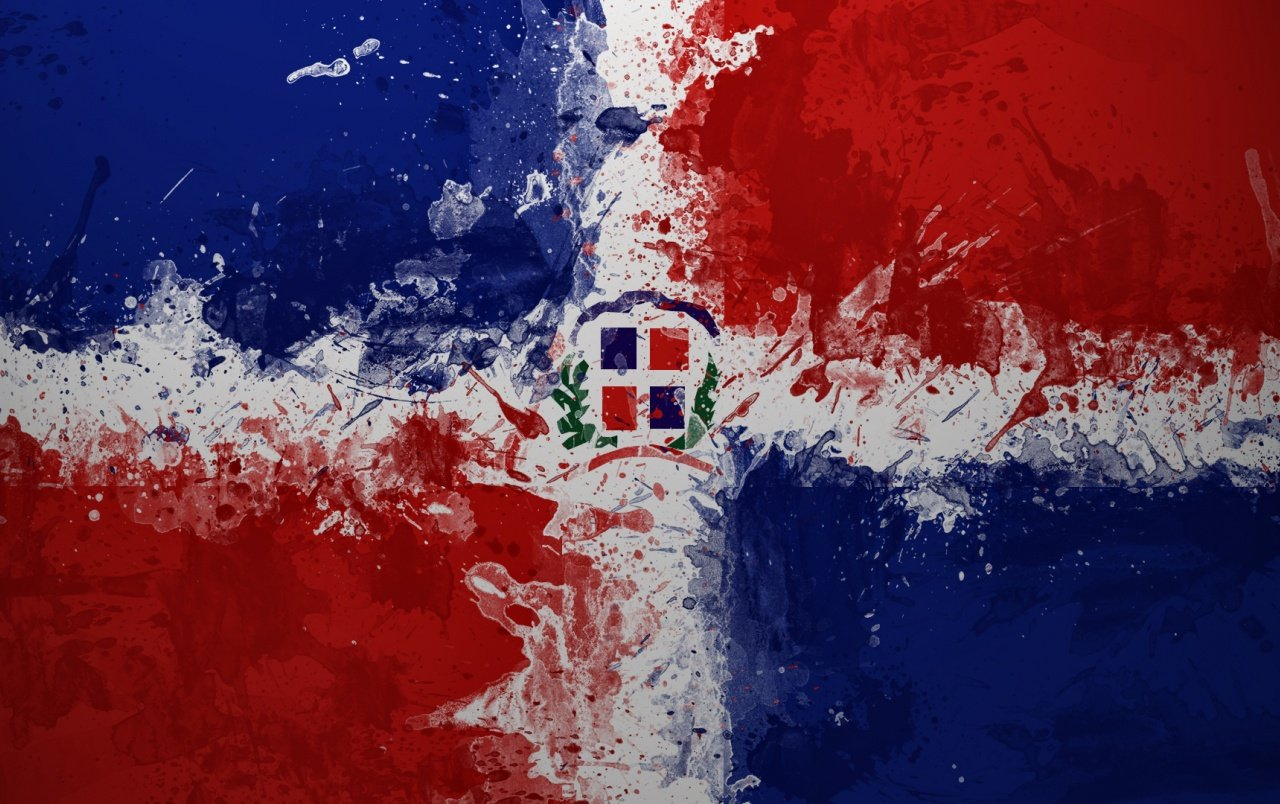 Dominican Republic Flag wallpapers Dominican Republic Flag stock 1280x804