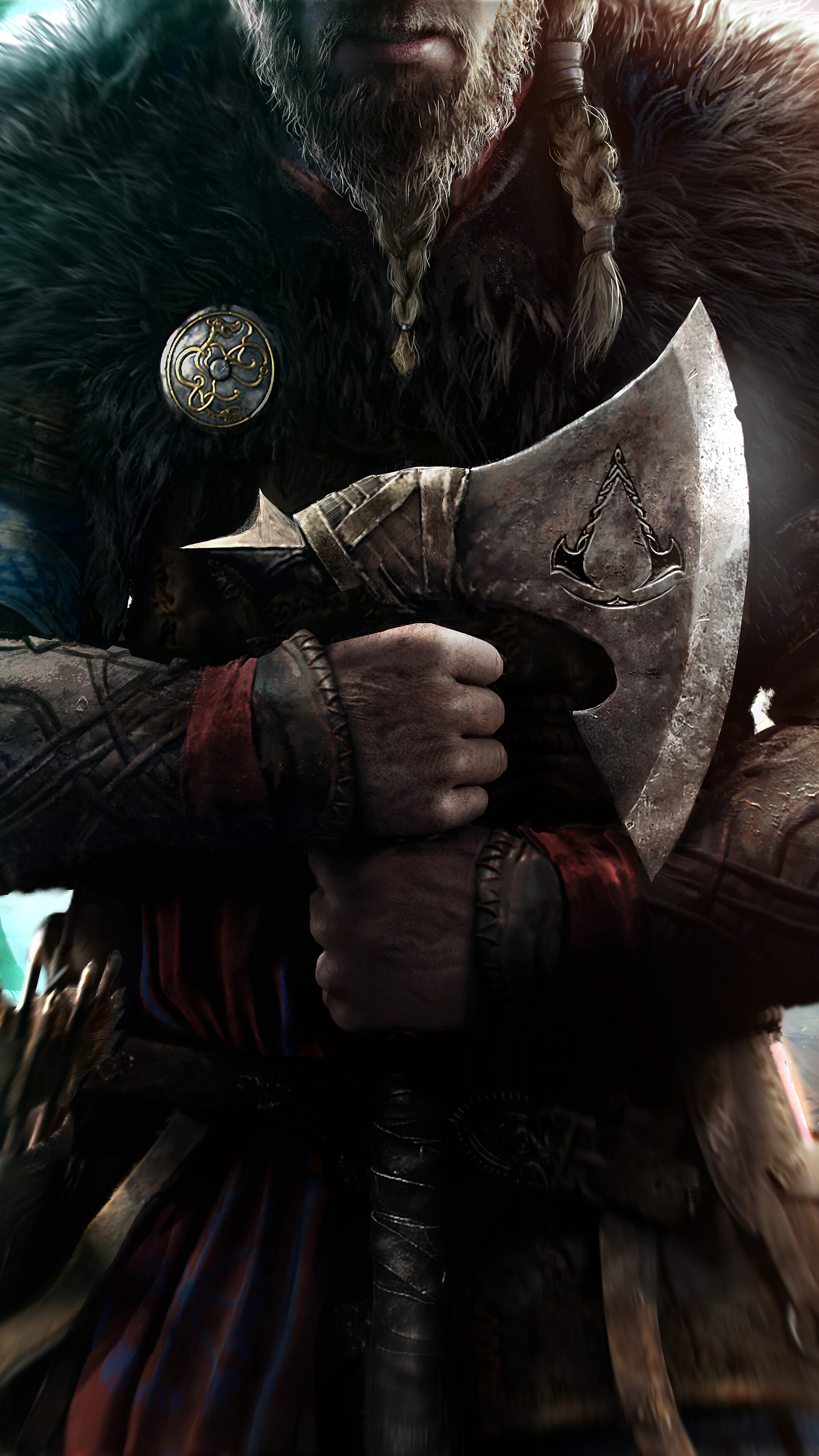 Assassins Creed Valhalla 8K Wallpaper 71958 2160x3840
