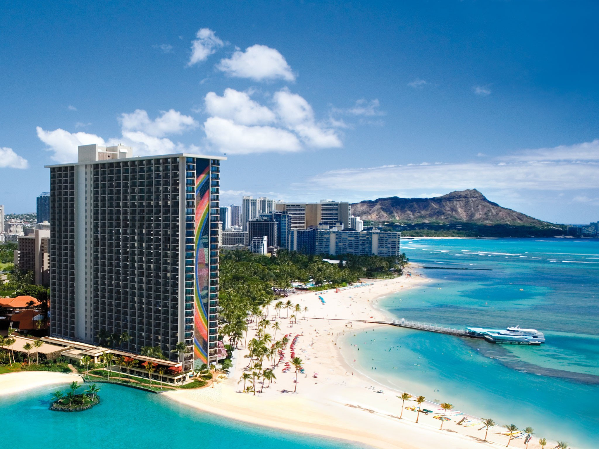 61 Waikiki Beach Wallpapers on WallpaperPlay 2048x1536