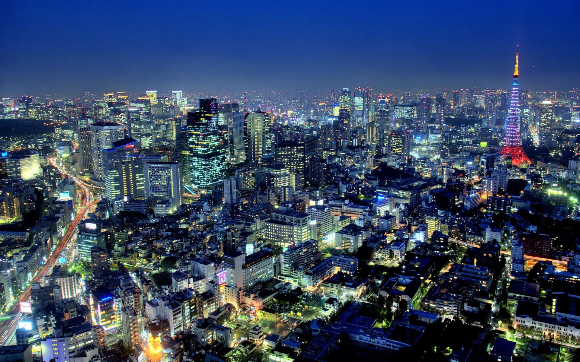 Daily Wallpaper Tokyo Japan I Like To Waste My Time 1920x1200
