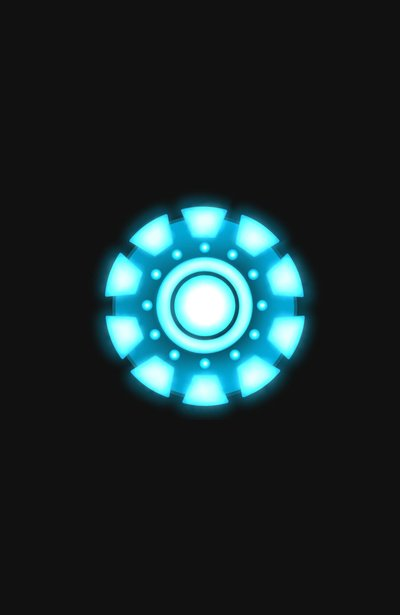 Iron Man Arc Reactor Iphone Wallpaper Arc reactor [iron man] 400x615