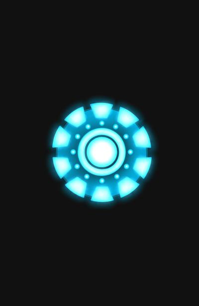 Iron Man Arc Reactor Iphone Wallpaper 400x615