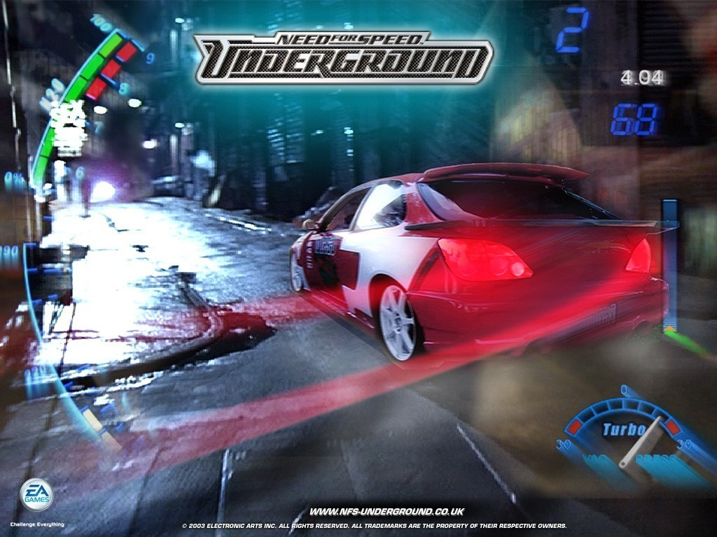 Turbo   Need for Speed Underground Wallpaper Turbo Wallpaper 1024x768