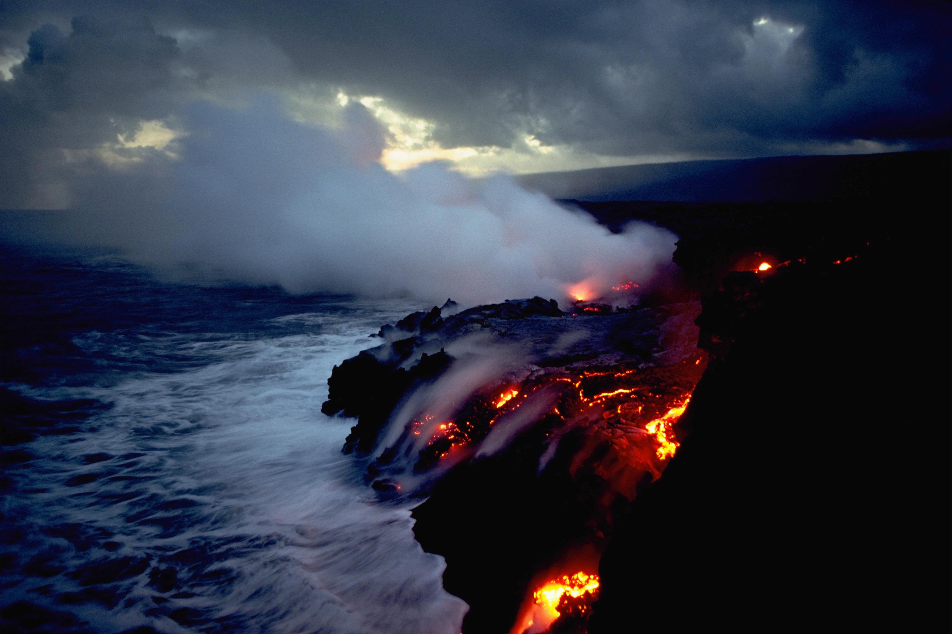 wallpaper hd volcano eruption - photo #15