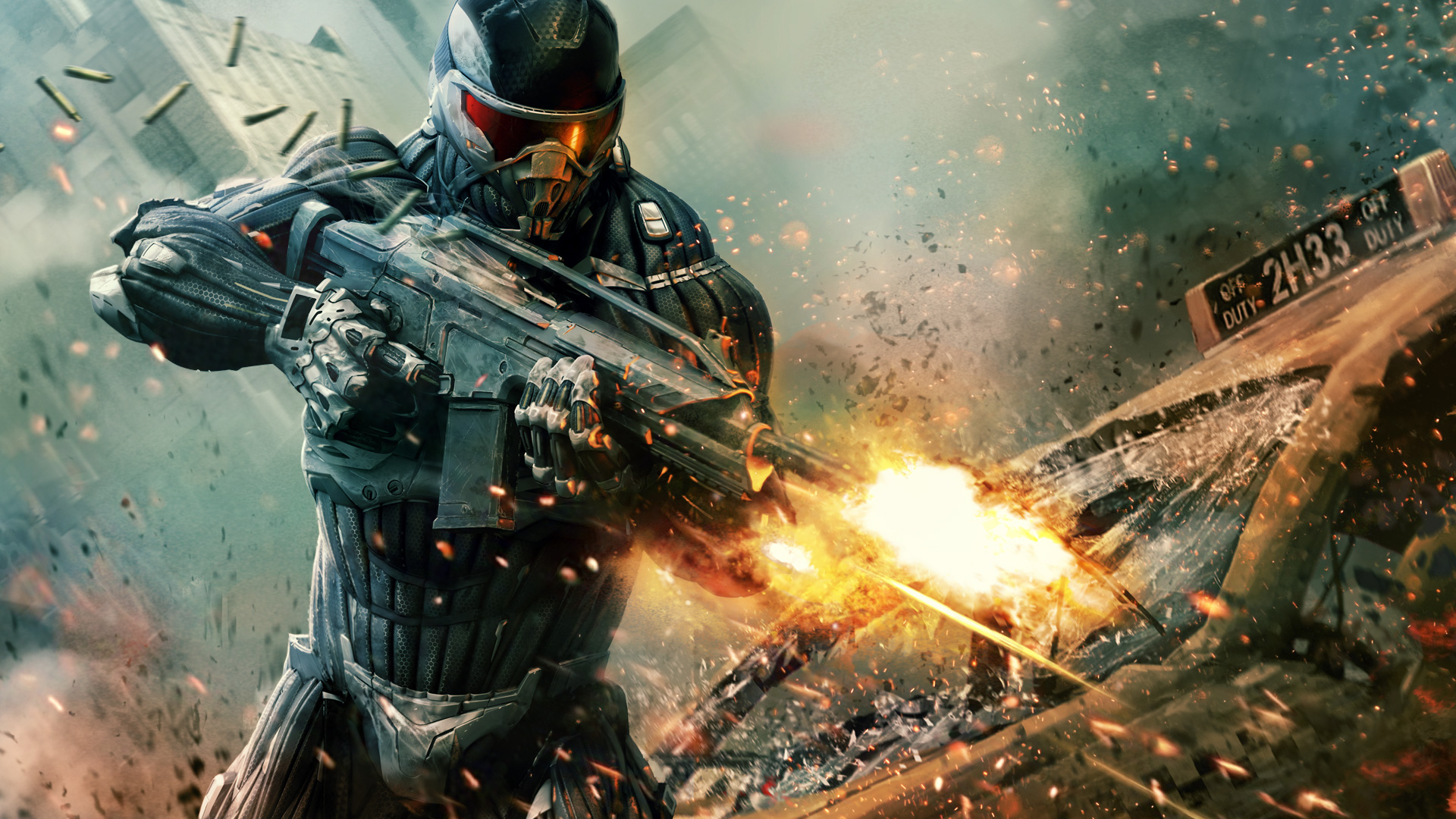 Crysis 2 Wallpaper submited images 1920x1080