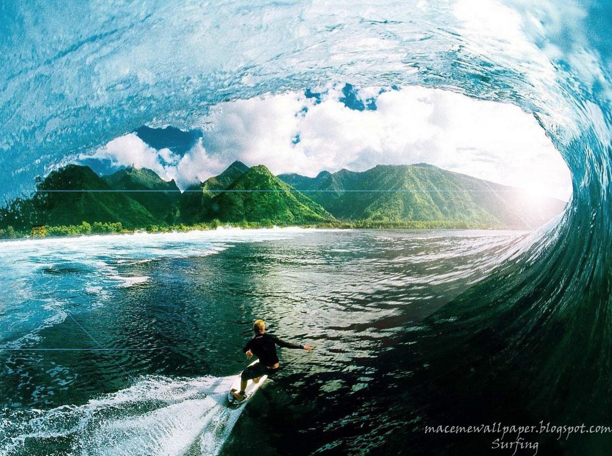 Surfing Wallpaper Maceme Wallpaper 1200x894
