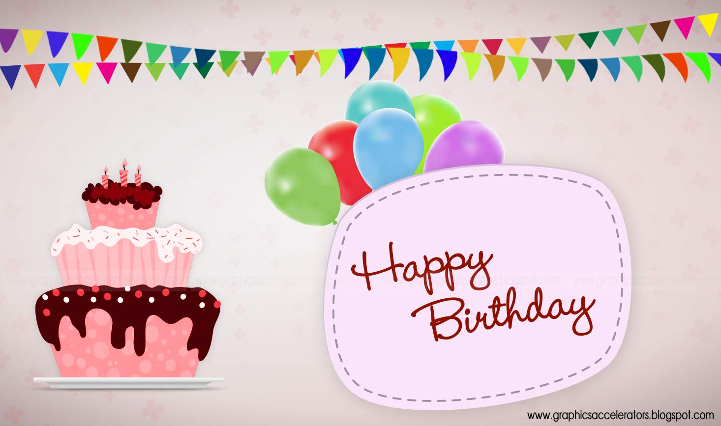 Free wallpaper birthday card wallpapersafari - Happy birthday card wallpaper ...