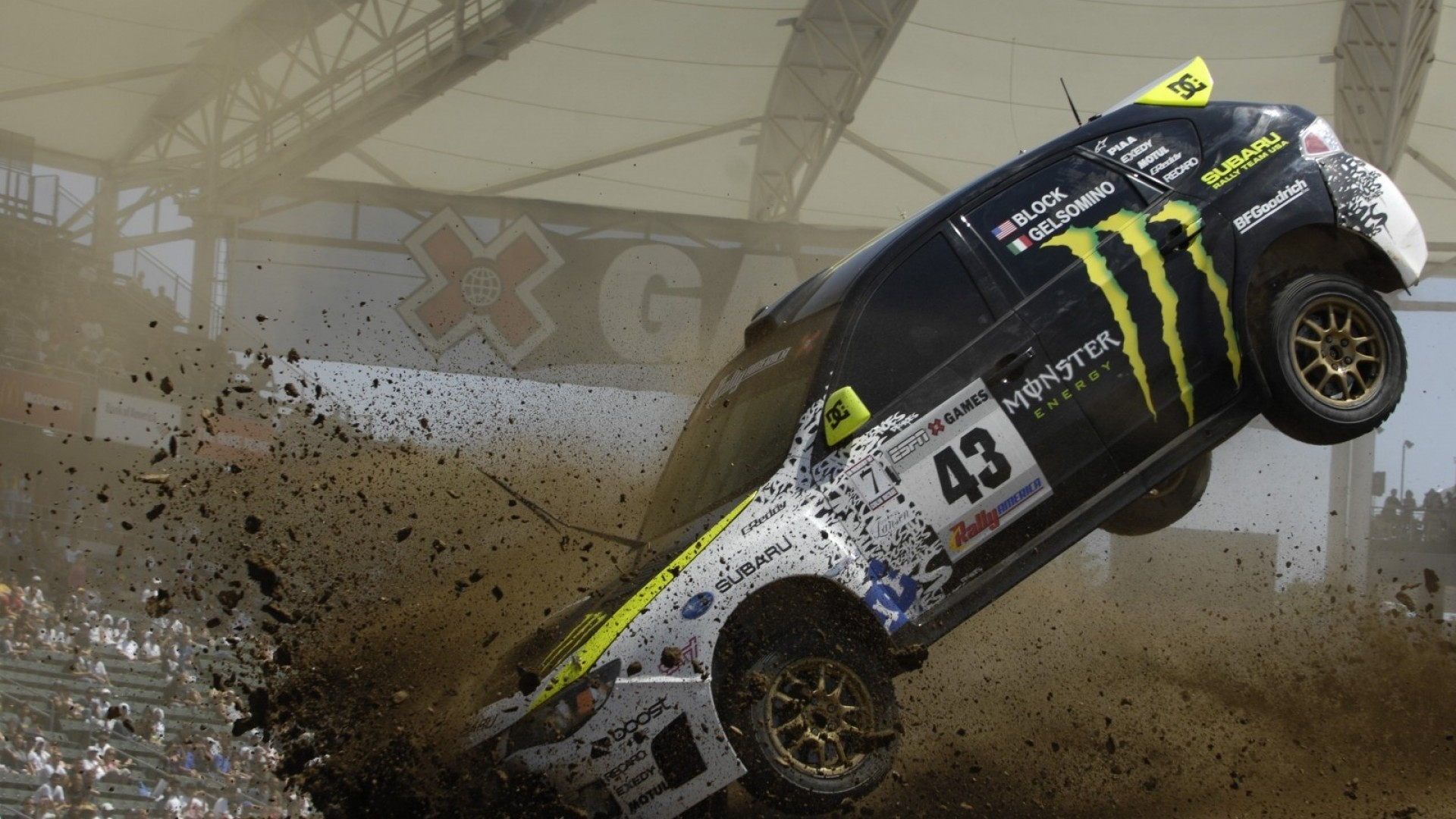 Cars Crash Wallpaper 1920x1080 Cars Crash Ken Block Subaru 1920x1080