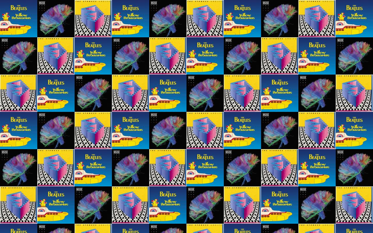 Free Download Beatles Yellow Submarine Muse Second Law Strokes