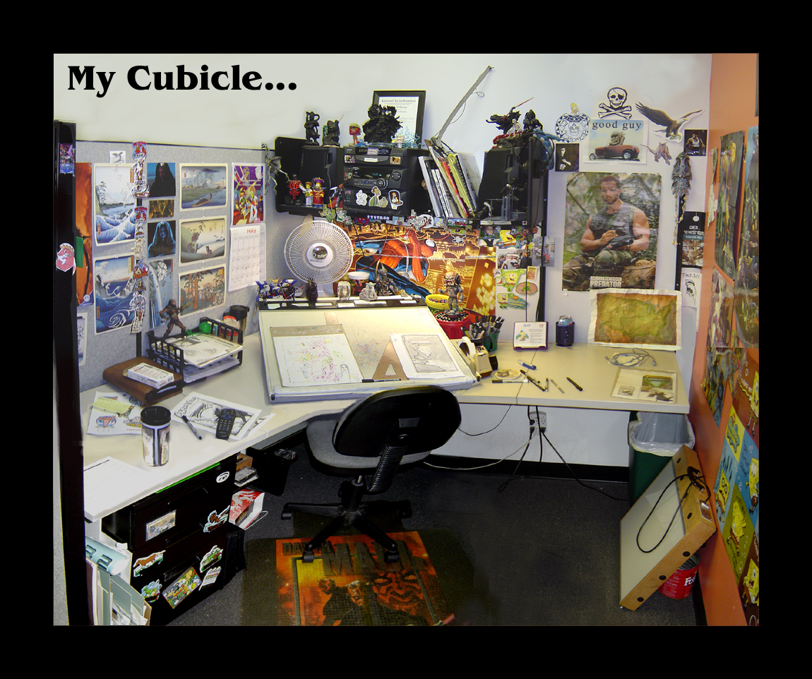 Office Desk Wallpaper: Wallpaper For Office Cubicle