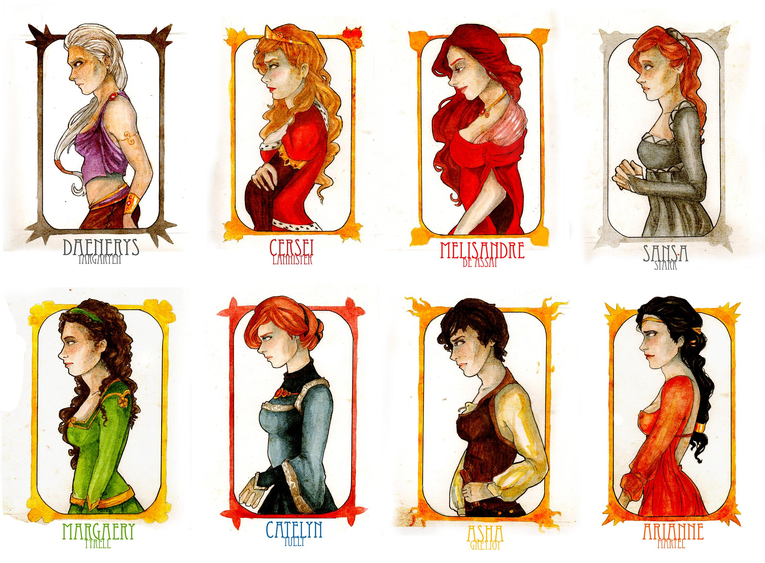 Song of Ice and Fire images Song of Ice and Fire girls wallpaper 2468x1817
