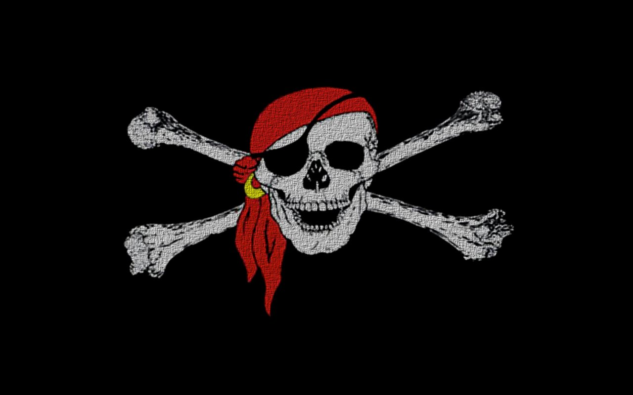 Download Skull And Crossbones Wallpaper Submited Images 1280x800