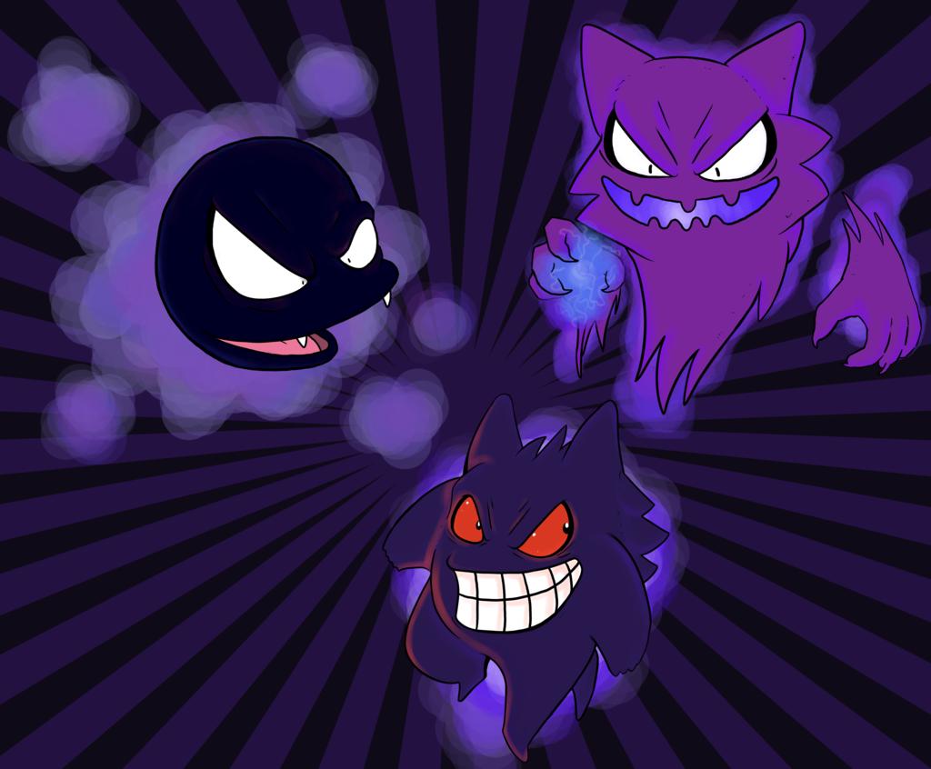 Ghost Pokemon Wallpaper by PandaSexBox 1024x846