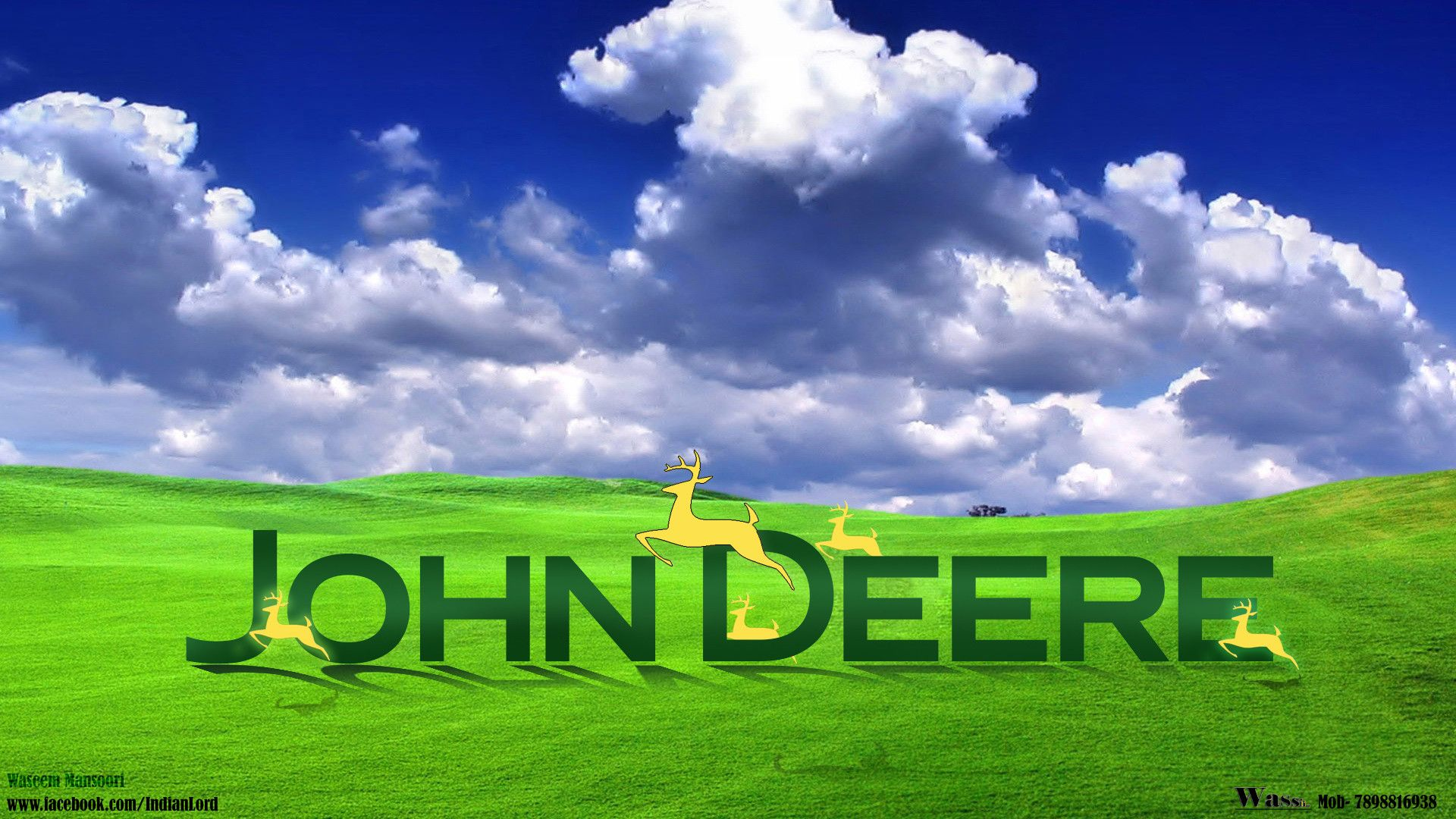 Hd Tractor Desktop Wallpapers: HD John Deere Wallpaper