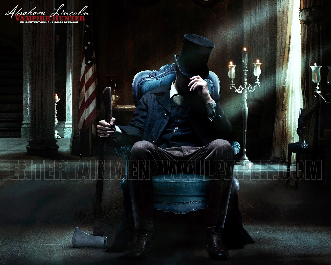 Abraham Lincoln   Abraham Lincoln Vampire Hunter Wallpaper 31543013 1280x1024