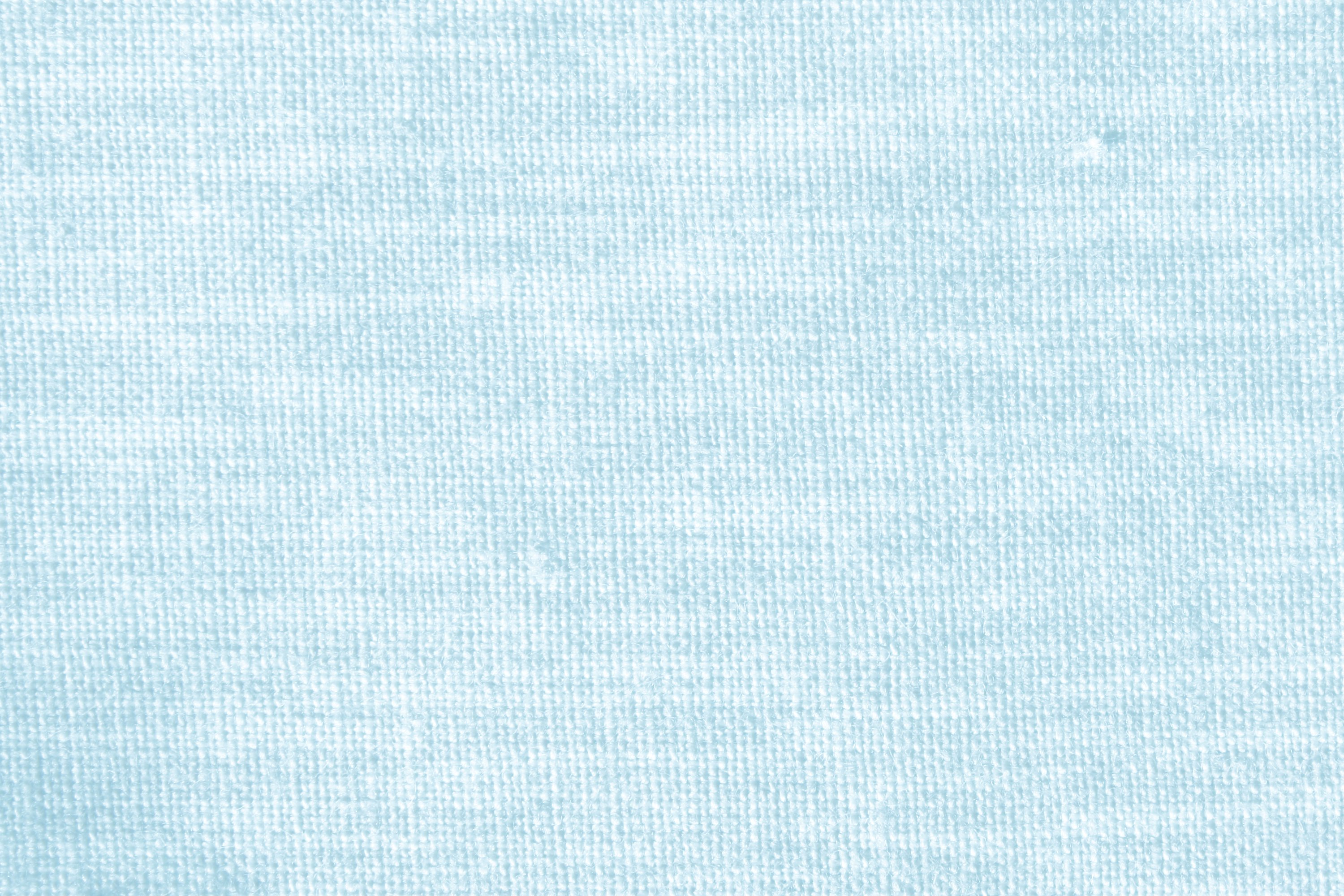 Baby Blue Woven Fabric Close Up Texture   High Resolution Photo 3000x2000