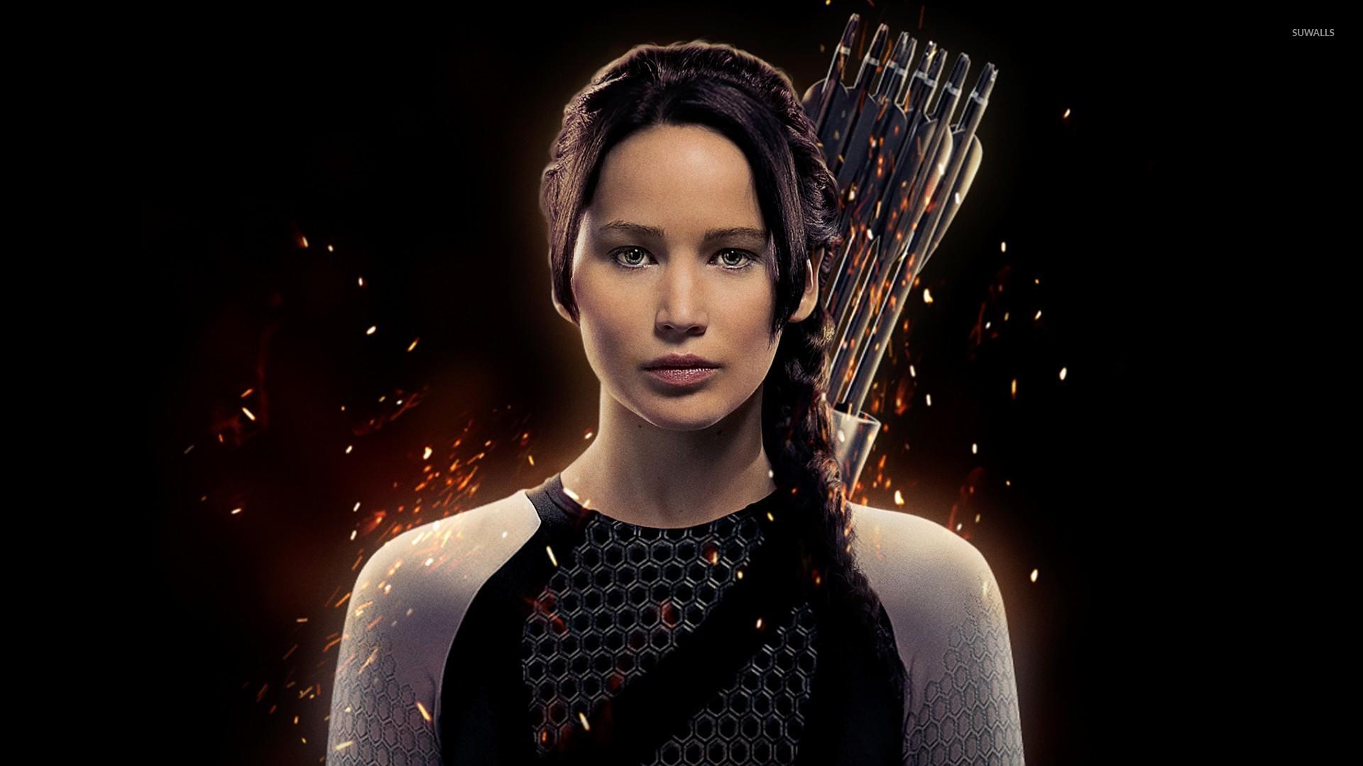 Katniss Everdeen   The Hunger Games Catching Fire wallpaper 1920x1080