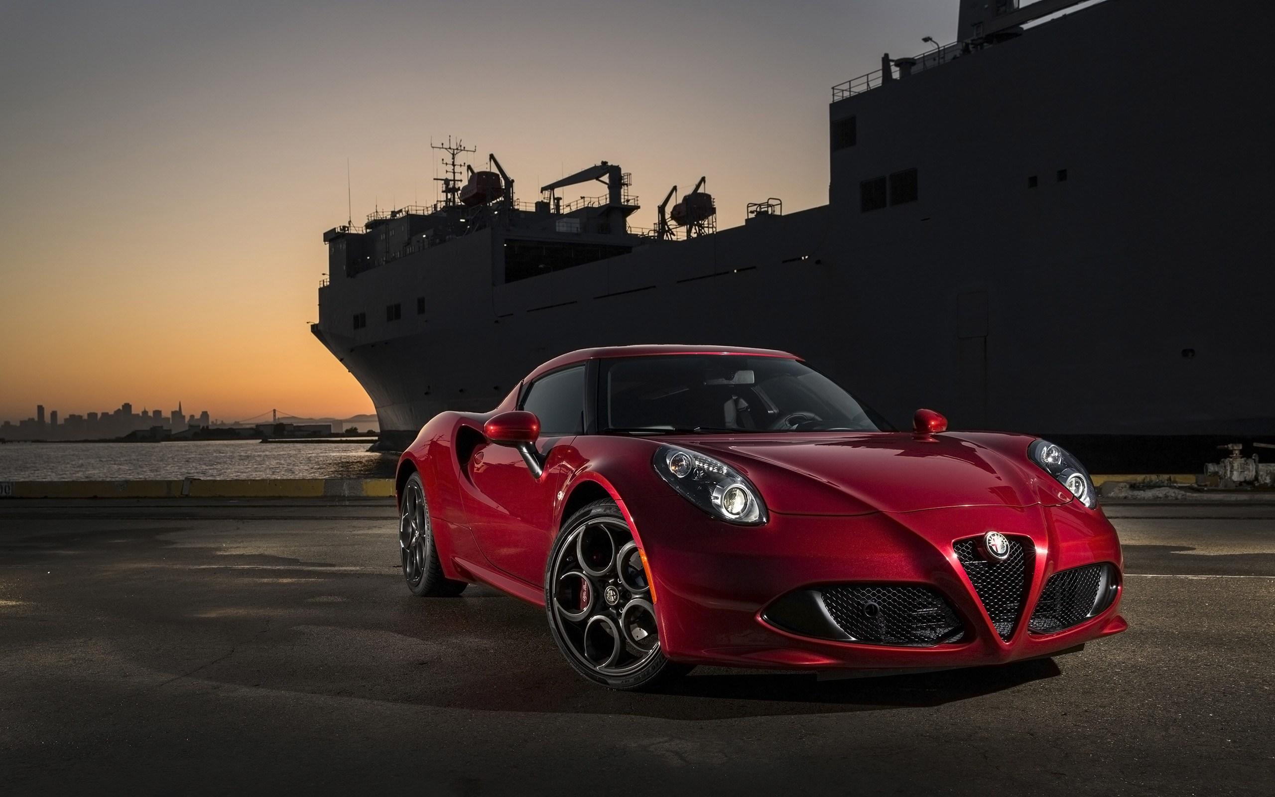 Alfa Romeo Бордовая  № 2426393 загрузить