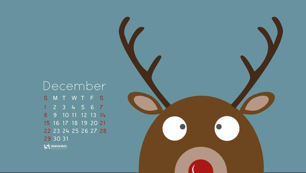 Desktop Wallpaper Calendars December 2013 Christmas Edition 1000x565