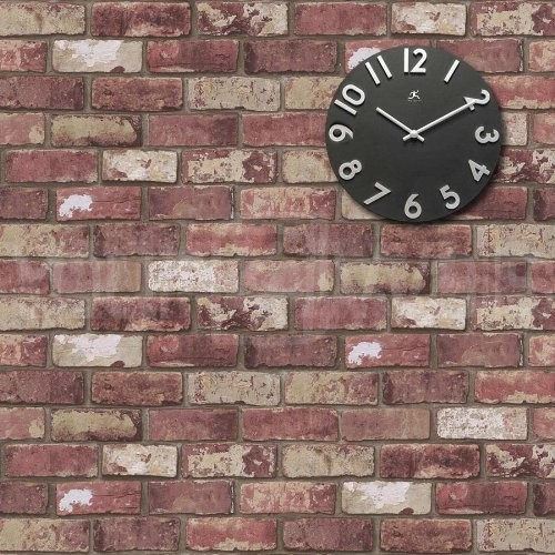 Realistic Brick Effect Wallpaper   Eclectic   Wallpaper   by Amazon 500x500