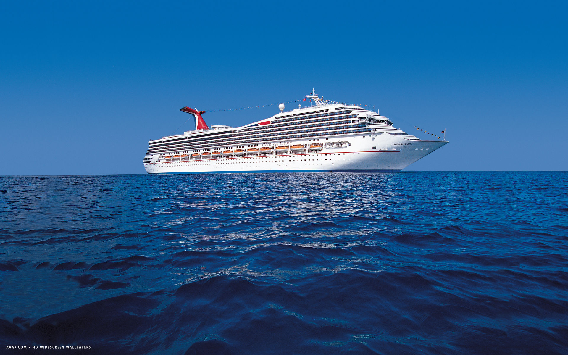 carnival glory cruise ship hd widescreen wallpaper cruise ships 1920x1200