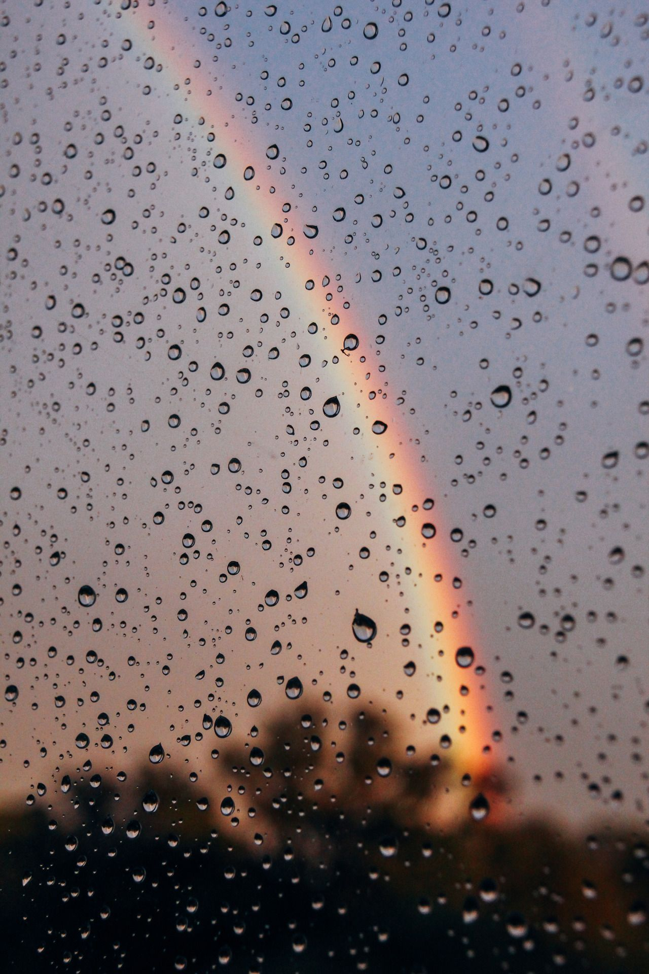 Raining Aesthetic Wallpapers 1280x1920