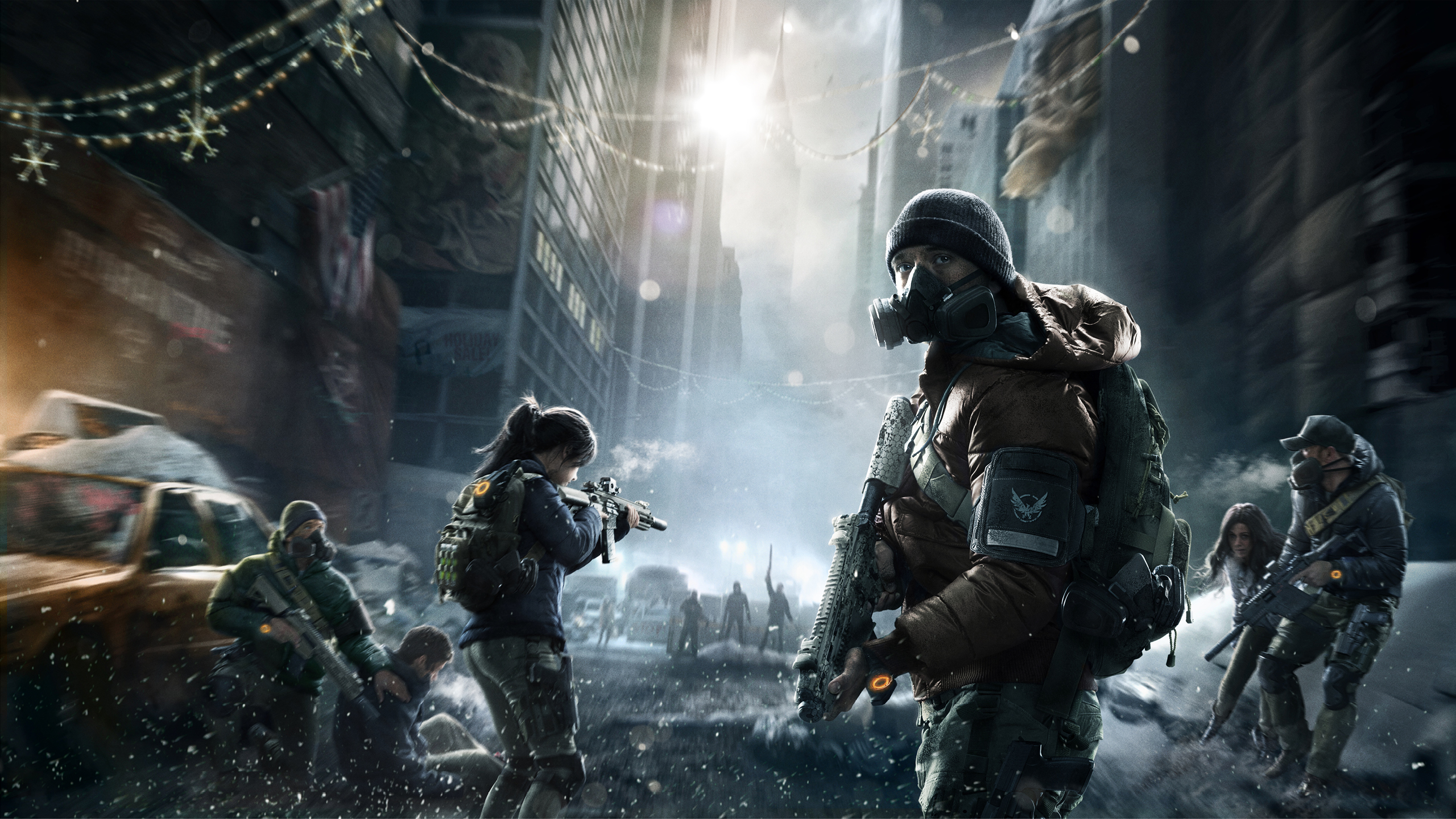 Tom Clancys The Division New York Wallpapers HD Wallpapers 2560x1440