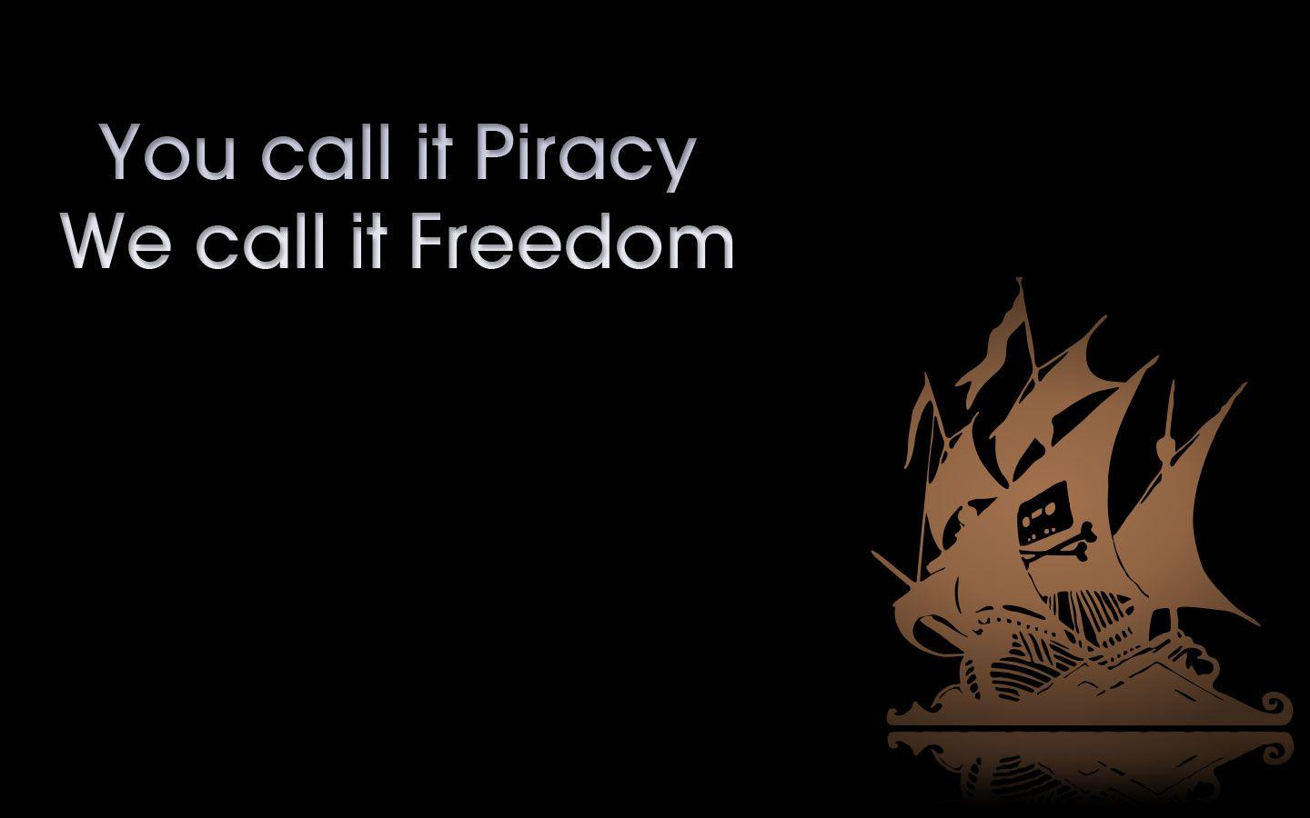 piracy slogan