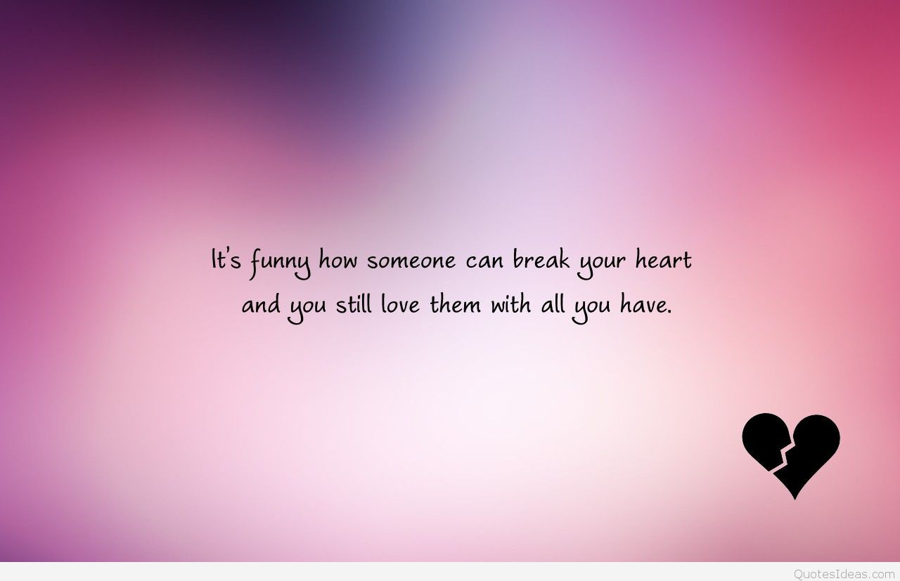 Broken heart sad quotes with wallpapers images hd 2016 1280x827