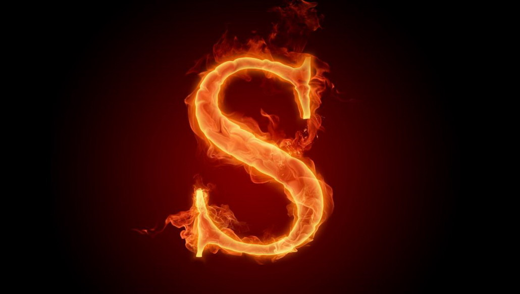 Fire Alphabet Wallpaper   wallpapers 1030x582