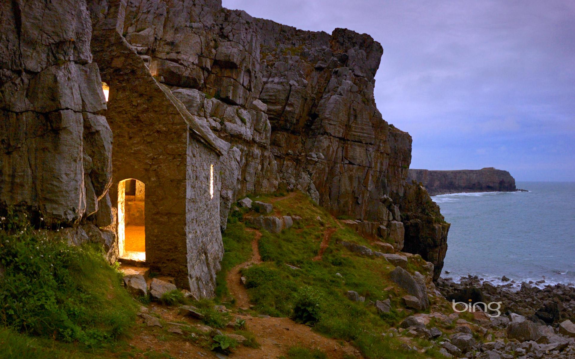 Saint Govans Chapel in Pembrokeshire Coast National Park 1920x1200