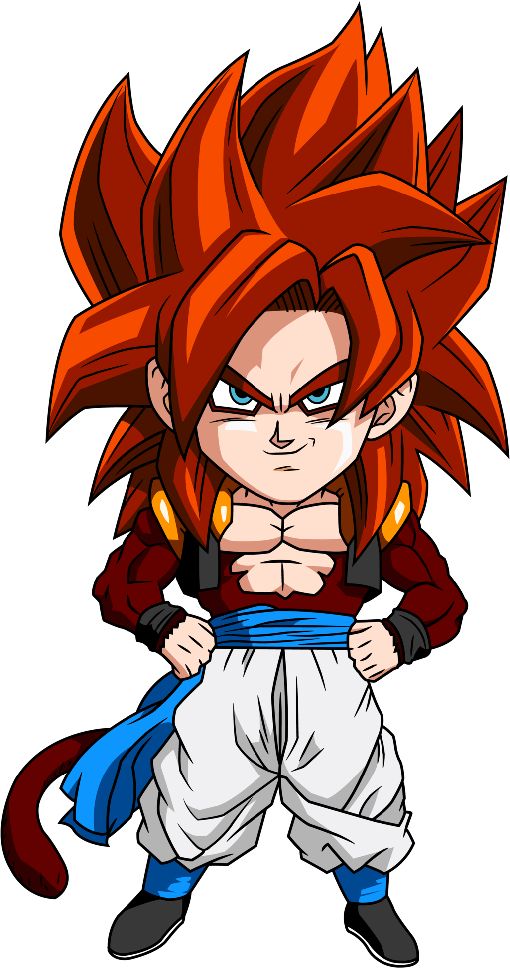 Gogeta Ssj4 Wallpaper Wallpapersafari