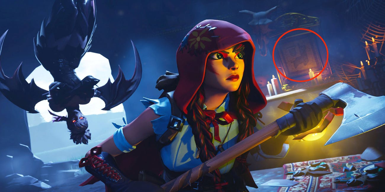 Fortnite Week 4 Secret Battle Star Clue Leads to a Hidden Banner 1300x650
