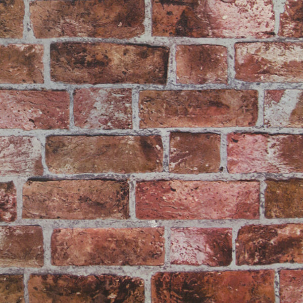 Red Brick Wallpaper   Wall Sticker Outlet 600x600