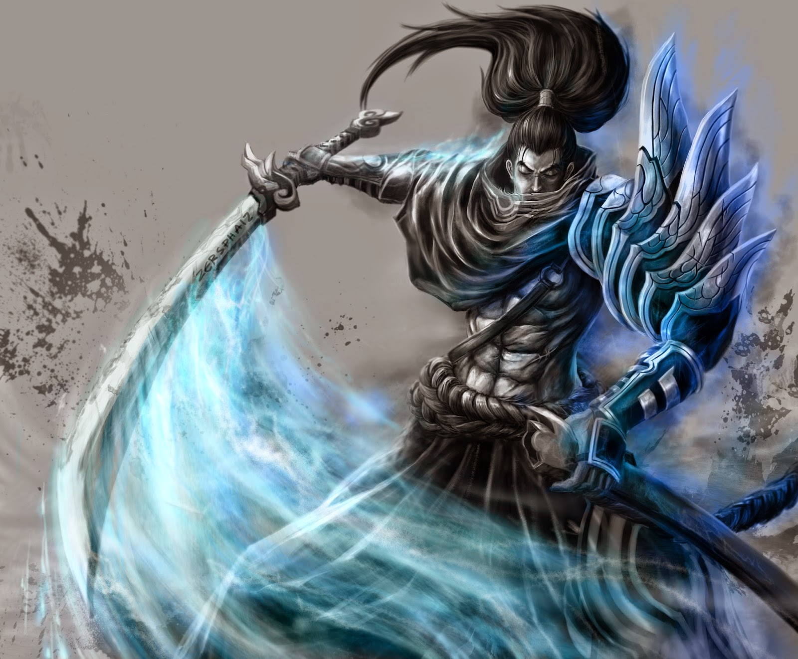blogspotcom201404Yasuo League of Legends Wallpaper full HDhtml 1600x1323