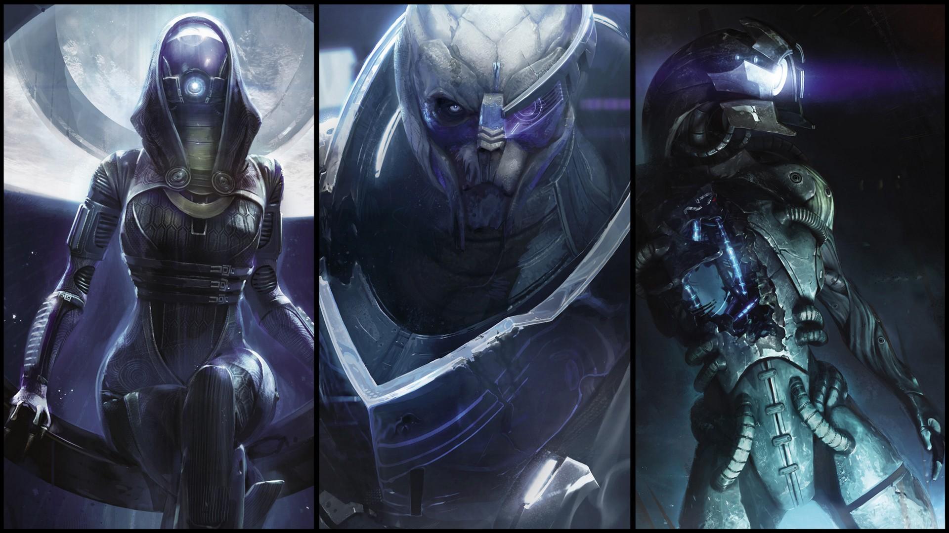 Fotos   Mass Effect Wallpaper Garrus 1920x1080