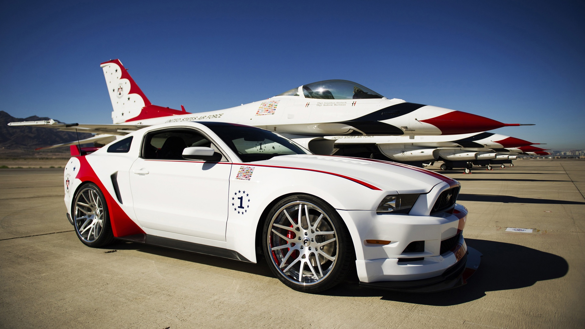 2014 Ford Mustang GT US Air Force Thunderbirds Edition 1920x1080 1920x1080