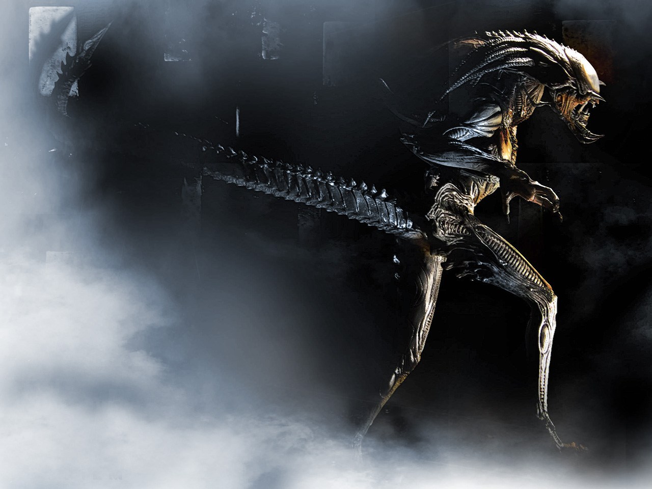 Alien Resurrection 1280 x 960pix wallpaper Science Fiction 2D 1280x960