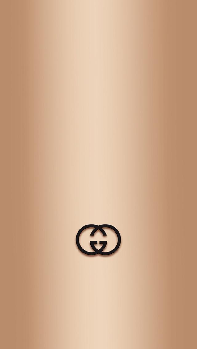 Gucci Logo iPhone wallpaper 640x1136