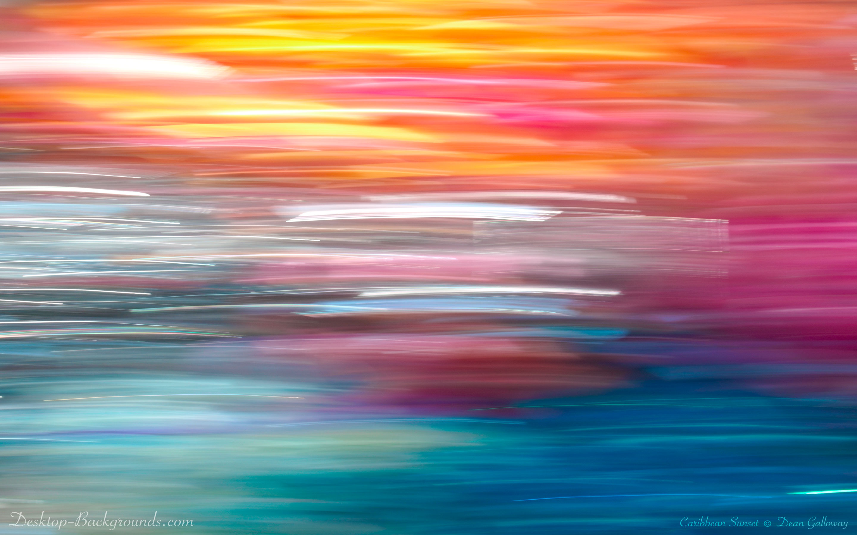 Caribbean Sunset Wallpaper Desktop - 471.7KB
