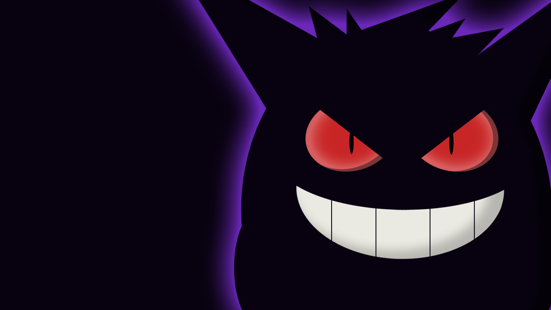 Gengar Wallpaper by w3ph 1920x1080