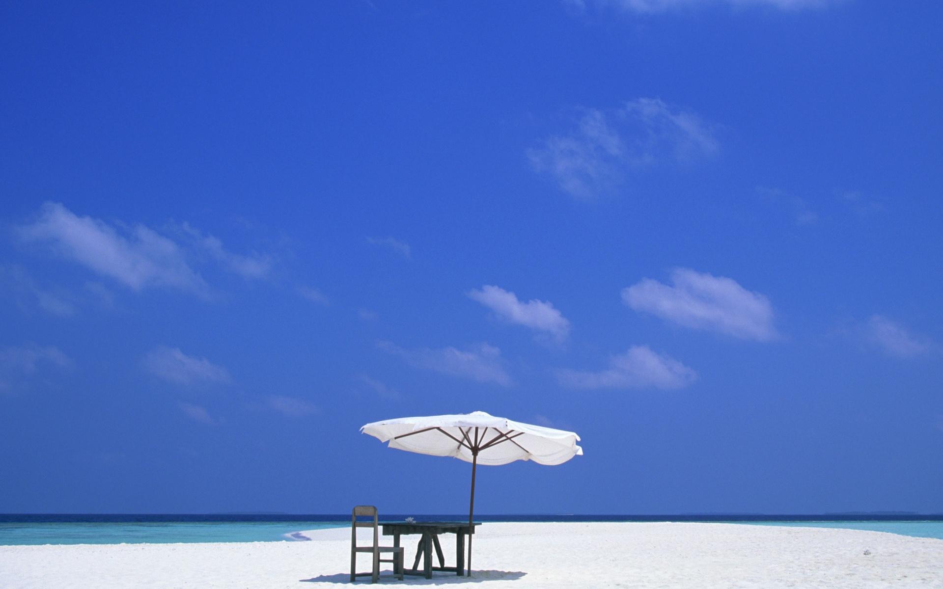 Beach Scene Wallpaper - 4986