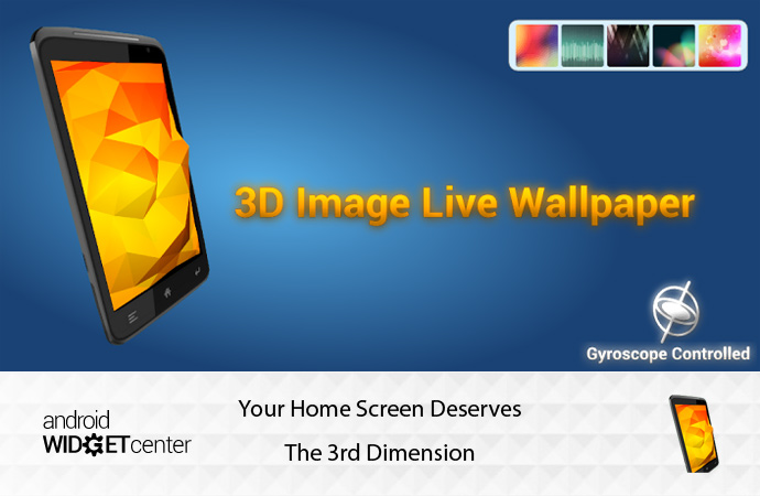 3D Image Wallpaper The Coolest Android 3D Live WallPaper AW Center 690x450