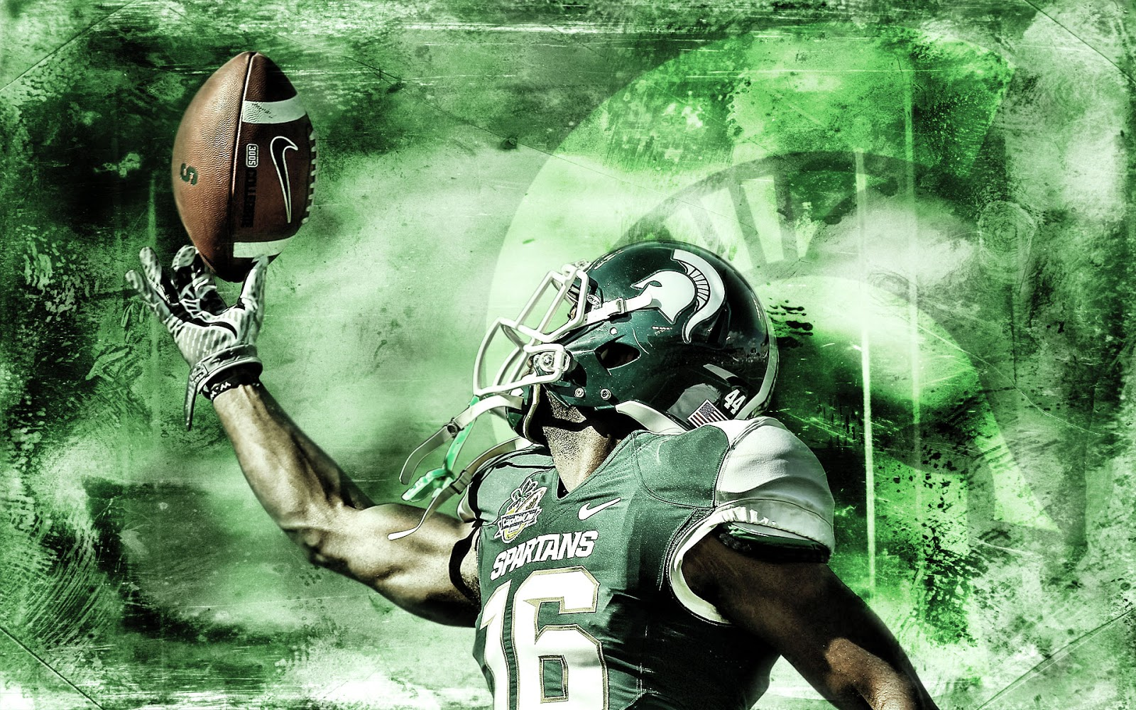 michigan state spartans football wallpapers