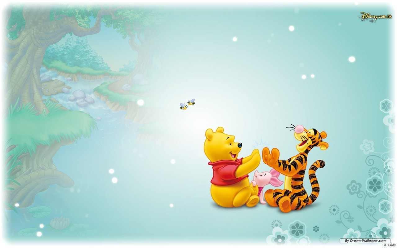 Free Download Cartoon Winnie The Pooh Wallpaper 1280x800