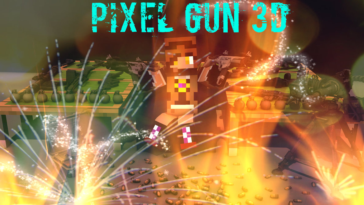 Skylox Pixel Gun 3D Wallpaper by SkyloxAndTY TY 1191x670