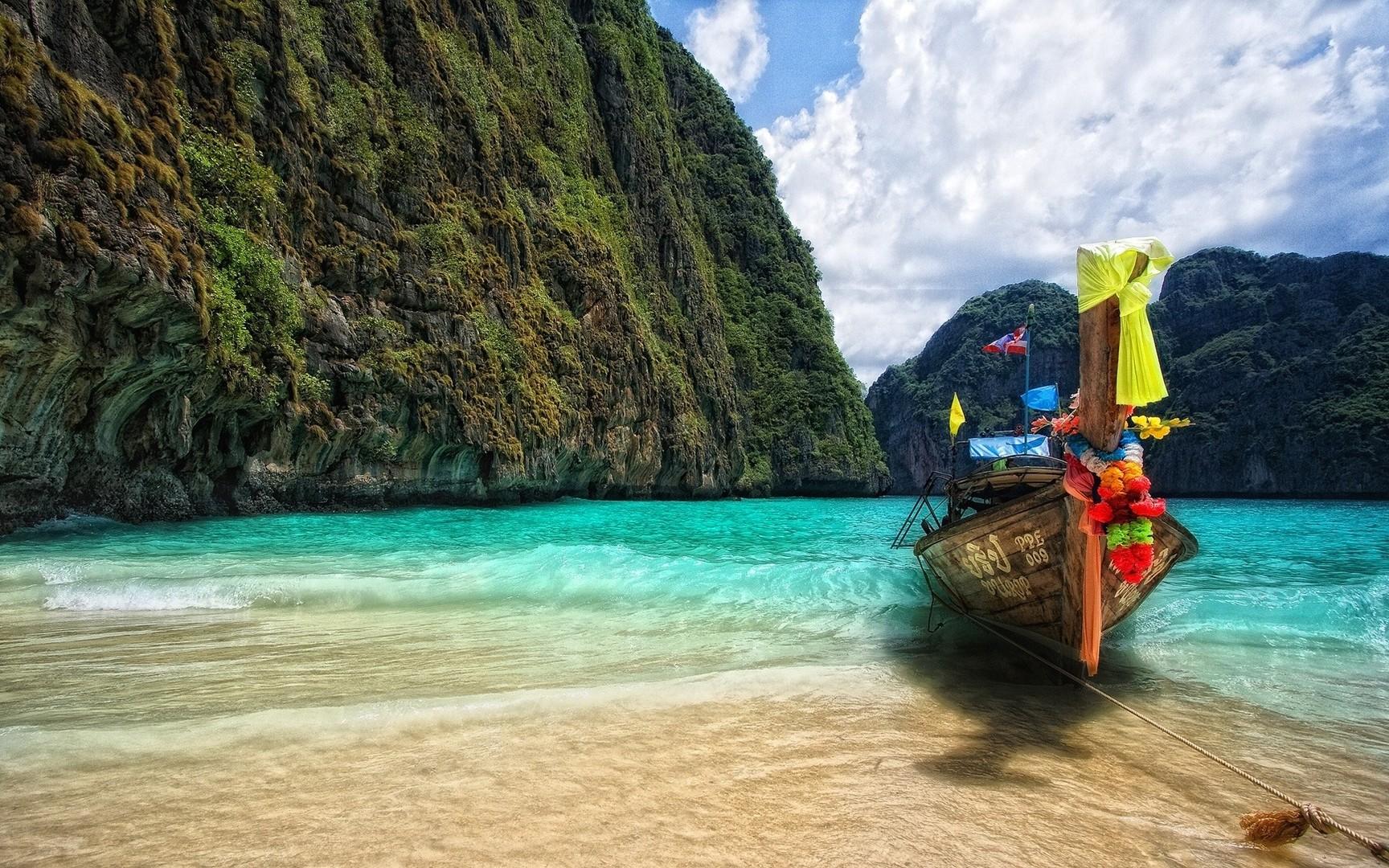Download Paradise island wallpaper 1728x1080