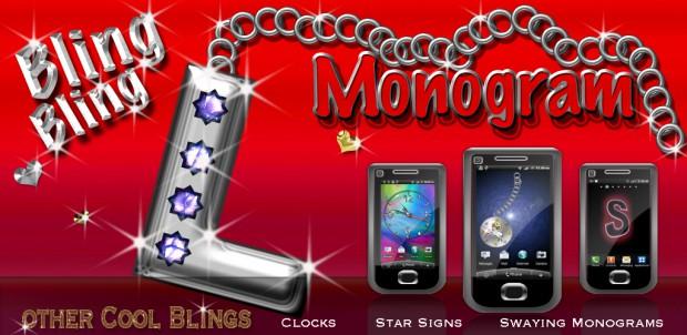 wallpaper bling bling l monogram live wallpaper bling bling l monogram 620x302